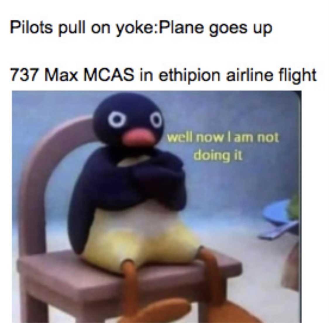 funny 737 max memes - mcas