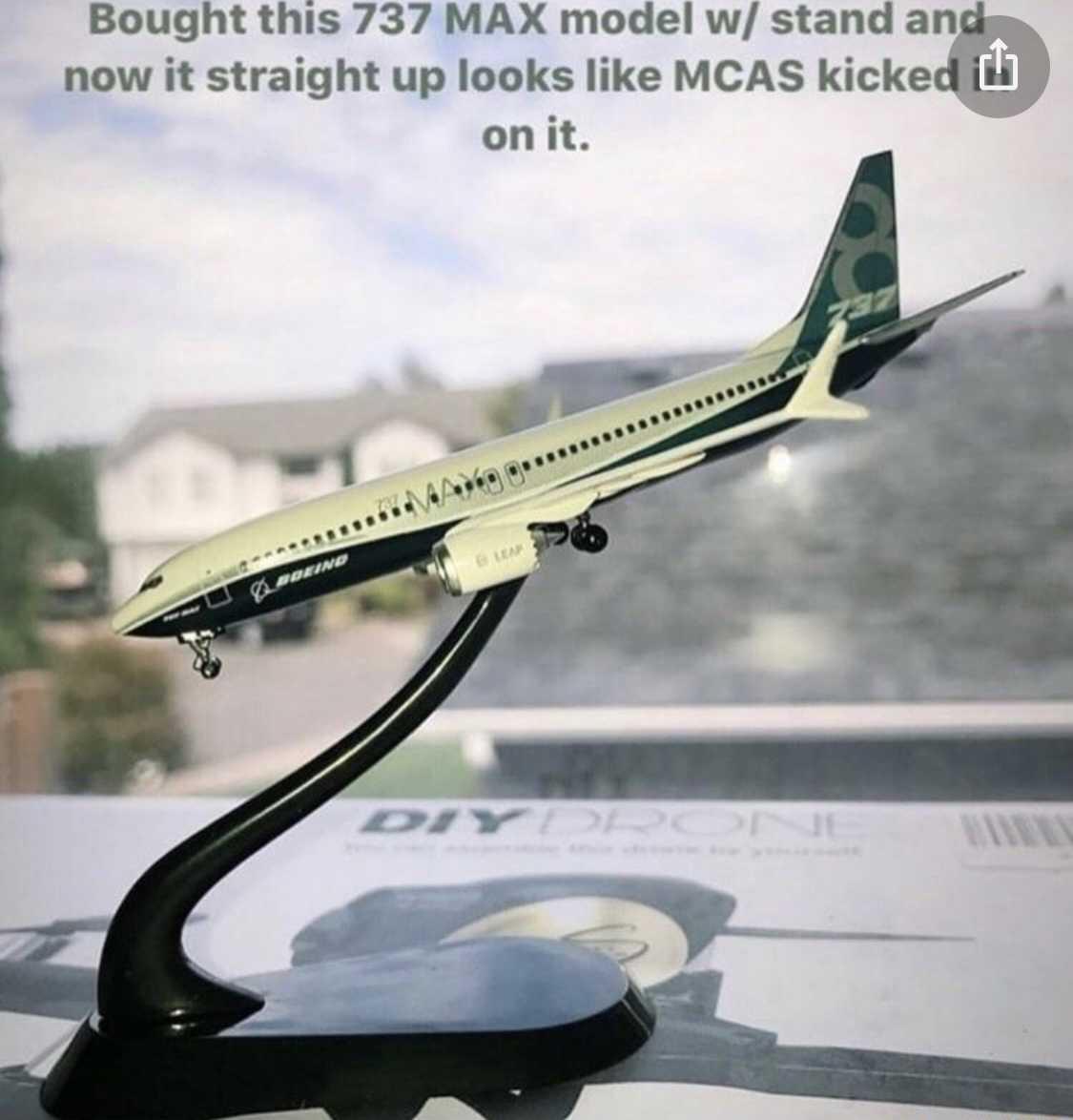 funny 737 max memes - max model