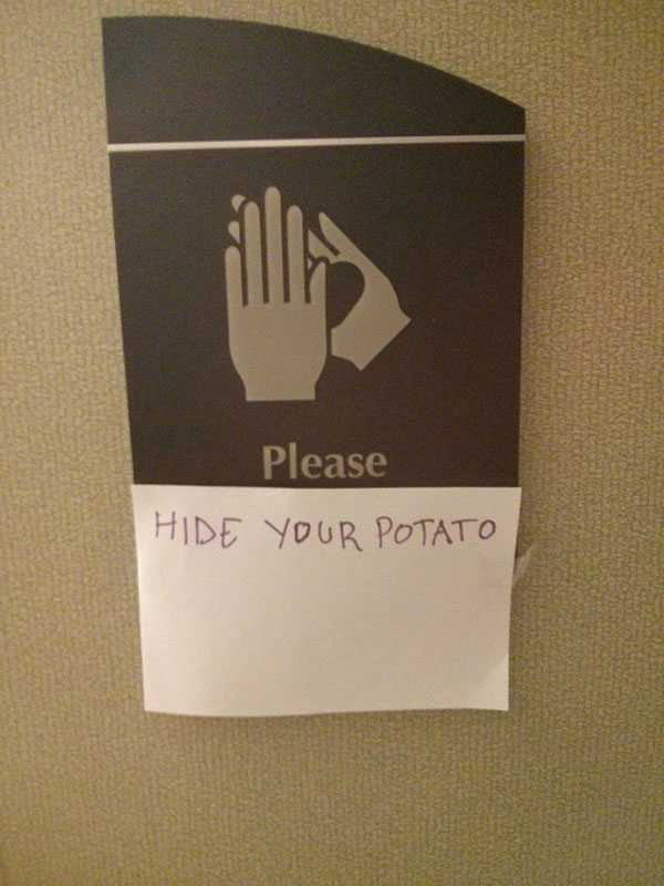 vandalism memes pic - hide potato