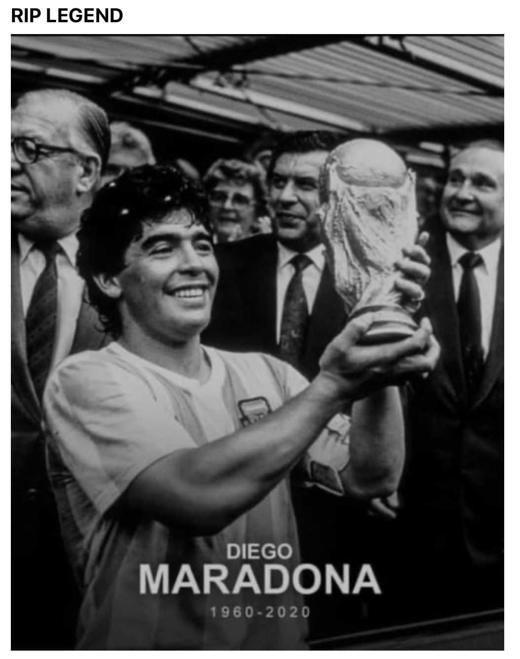 funny maradona meme tribute - champion