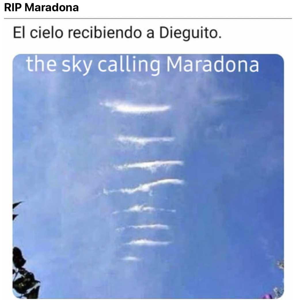 funny maradona memes - sky calling