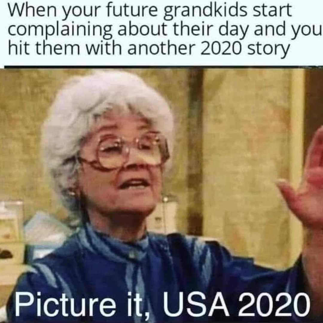 funny life meme - hit 2020 story
