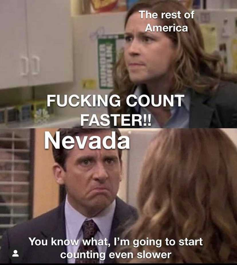 Funny Election Memes - Nevada count