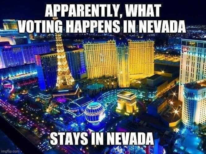 Funny Election Memes - stays in nevada