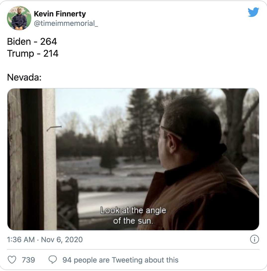 nevada vote counting memes 6 - admiring the light