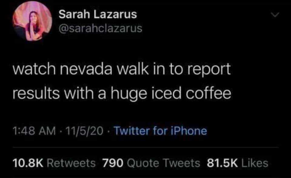 Funny Election Memes - Nevada walk in