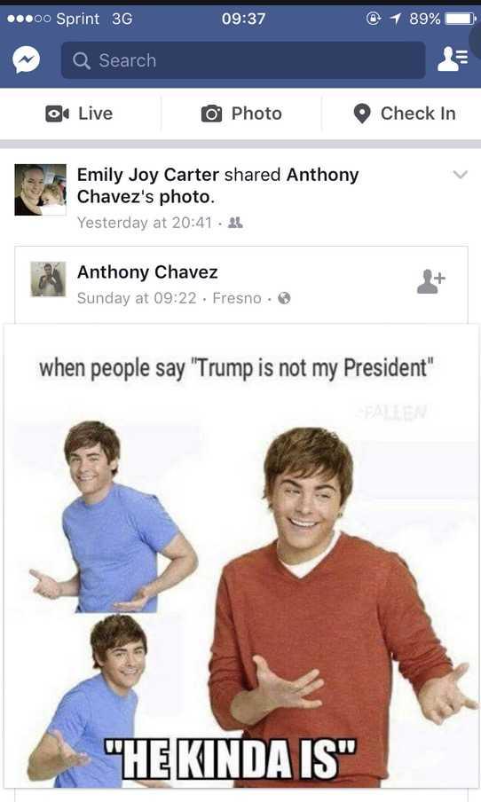 not my president memes - he kinda is