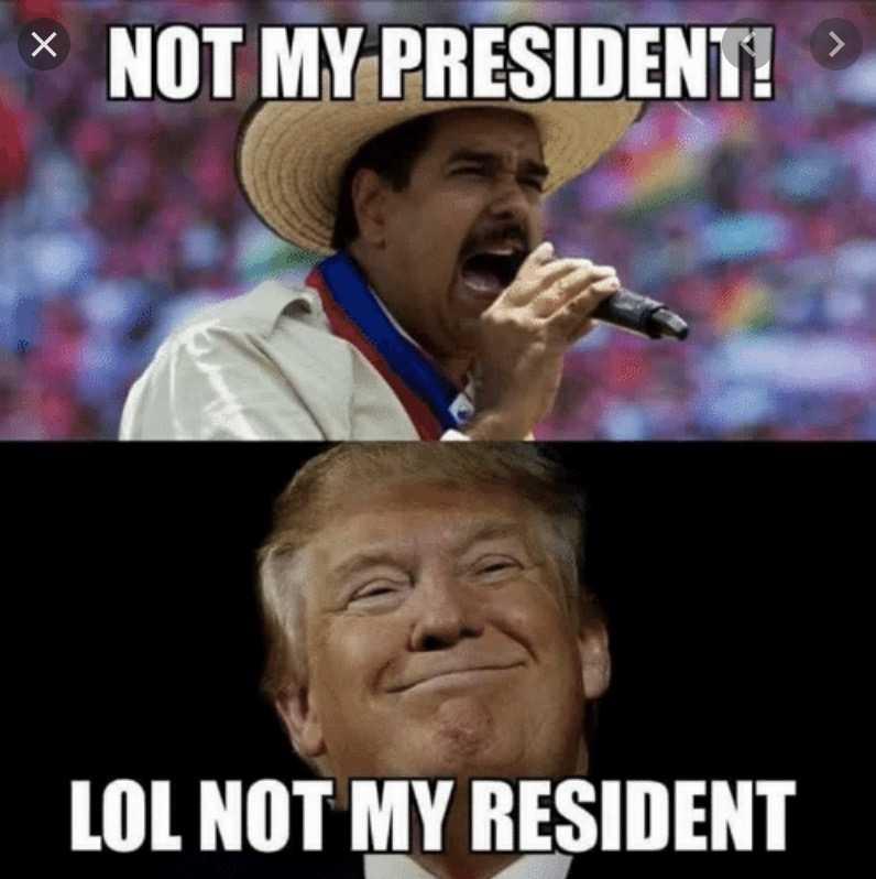 not my president - not resident 2