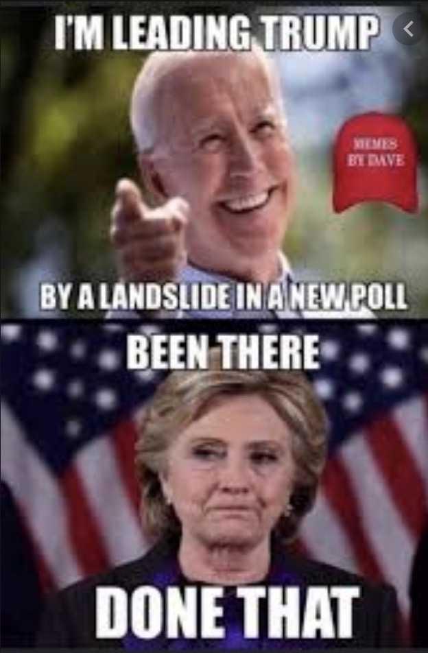 not my president meme - polls