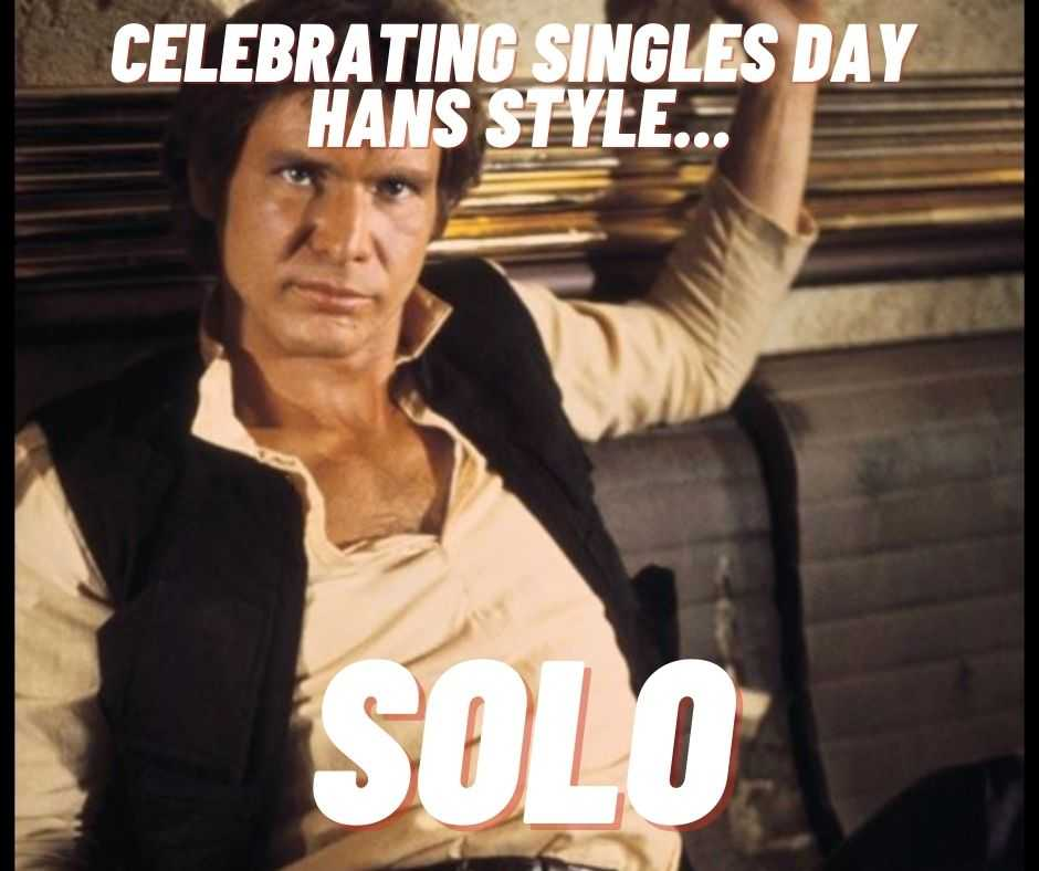 single days meme - celebrating singles day hans style
