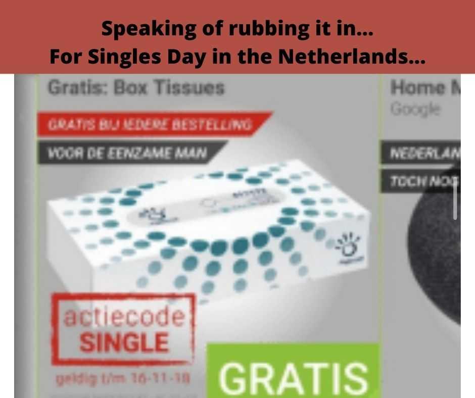 single days meme - netherland celebrates