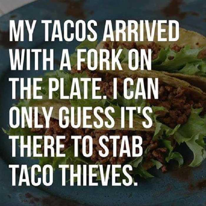 taco memes funny - taco stab