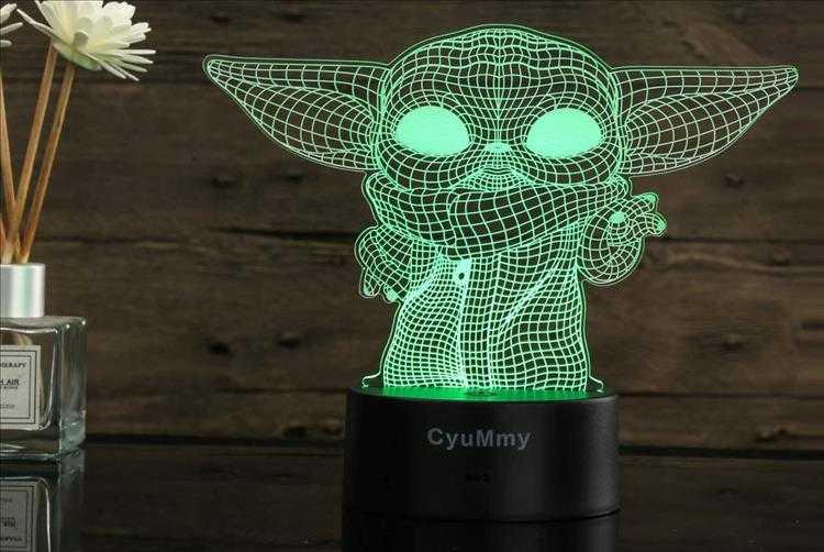 Top 10 Best Christmas Gift Ideas Under $50 - 3D Baby Yoda