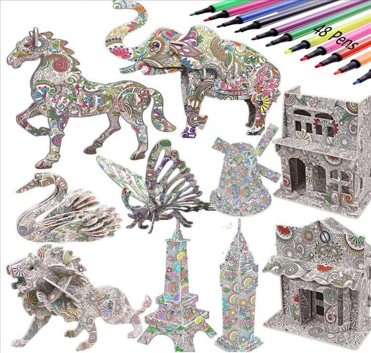 Top 10 Best Christmas Gift Ideas Under $50 - Colouring Kit