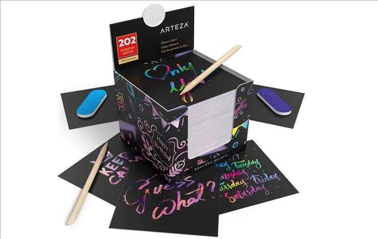 Top 10 Best Christmas Gift Ideas Under $50 - Arteza 20 Acrylic Paint