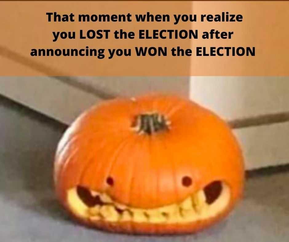 trump election defeat memes - awkward