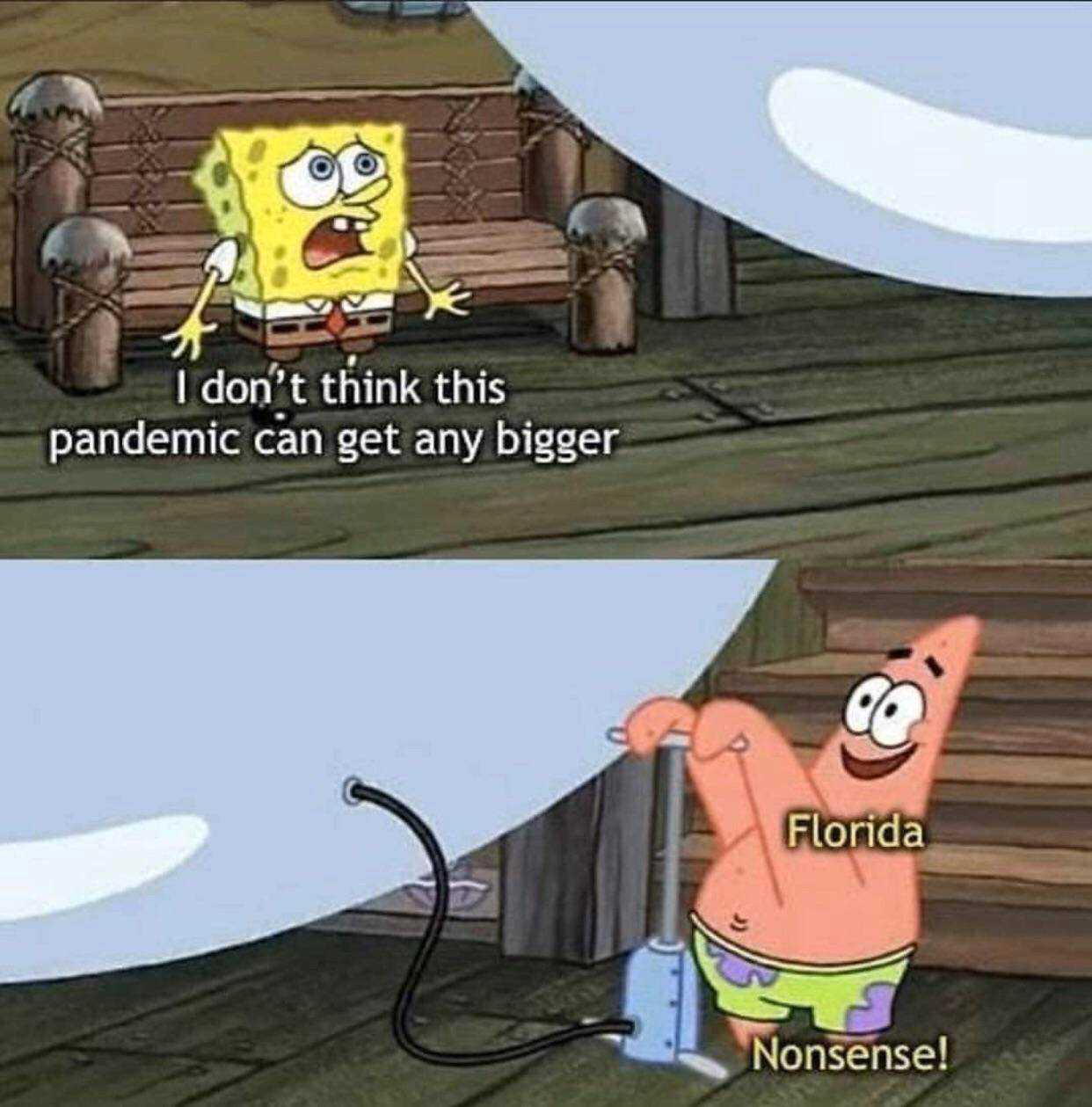 hilarious Spongebob memes - Florida
