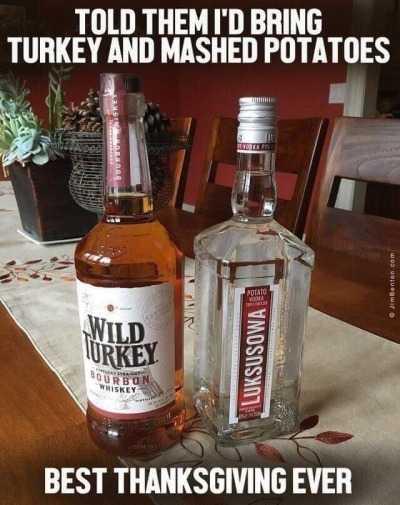 funny thanksgiving memes - liquid turkey, liquid mash potatoes