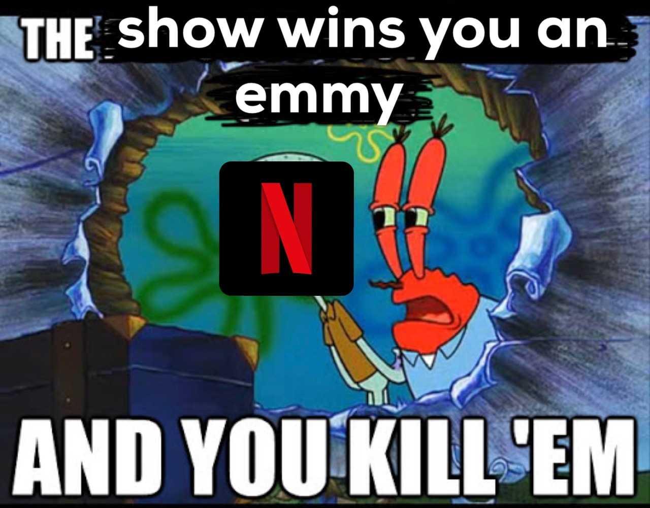 Funny Spongebob memes - Netflix tactics