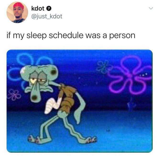 Spongebob memes - what's sleep