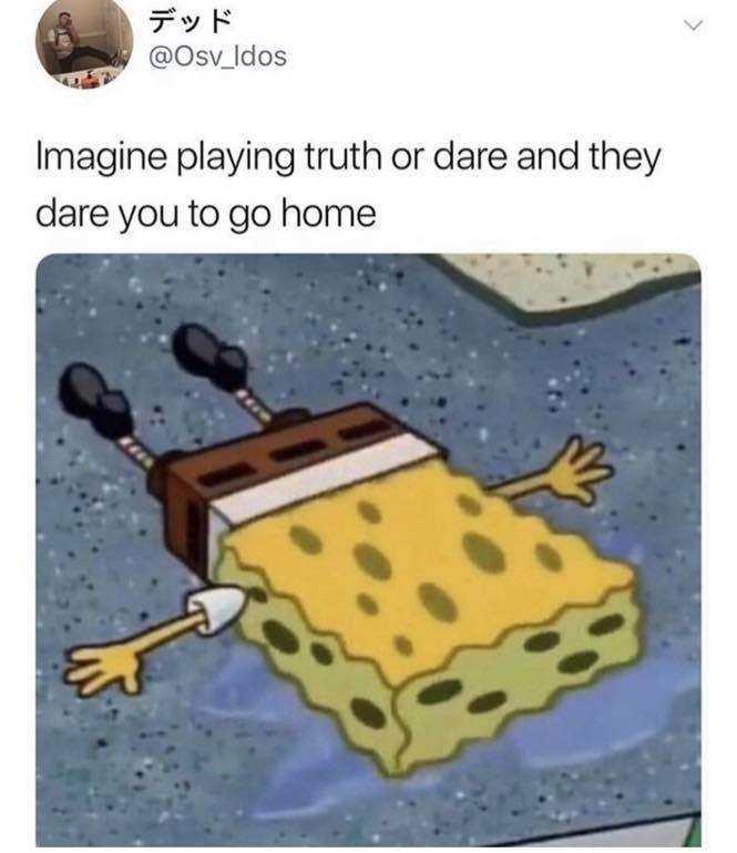 Funny Spongebob memes - going home