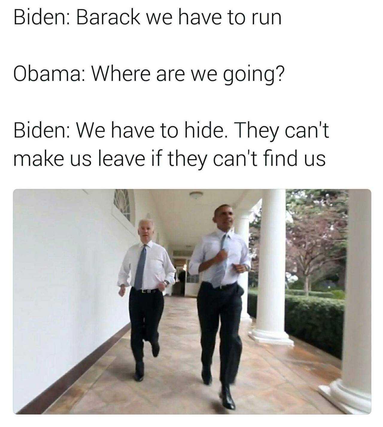 Obama memes - run