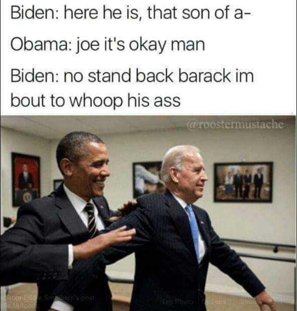 biden memes - throwing punches