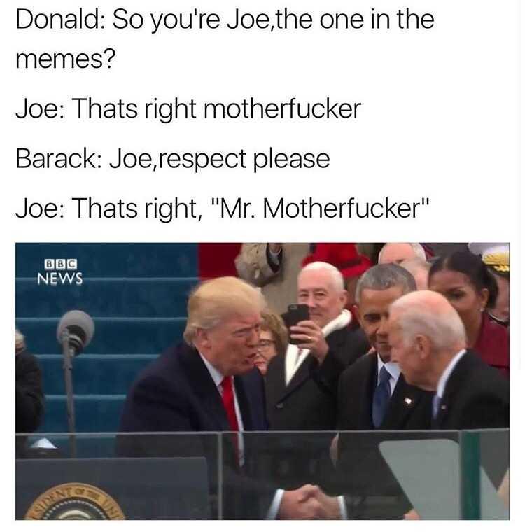 Obama and Biden Memes - respect