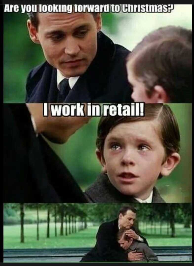funny black friday memes - retail dreams