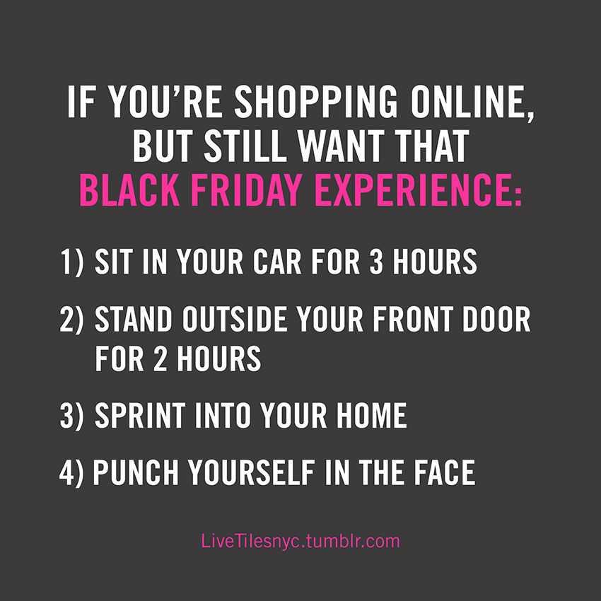Funny Black Friday Memes - black friday experience