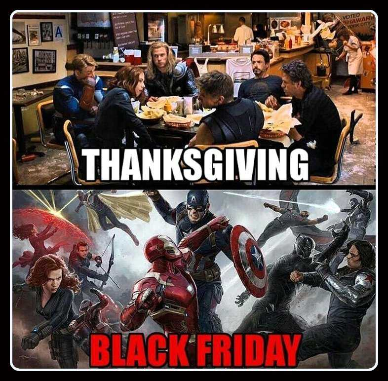 Funny Black Friday Memes - how things change