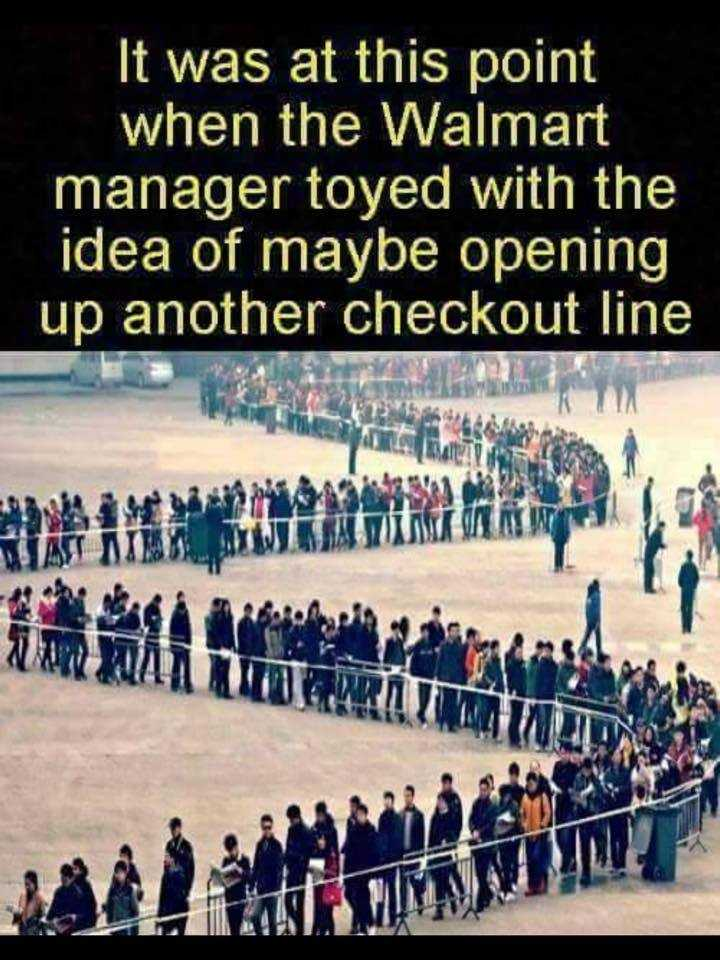 Funny Black Friday Memes - another checkout line