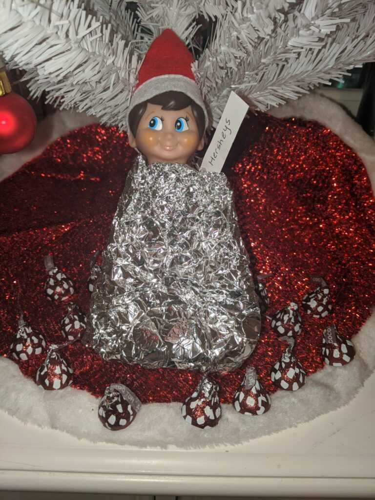 2020 Elf On The Shelf - All Wrapped Up