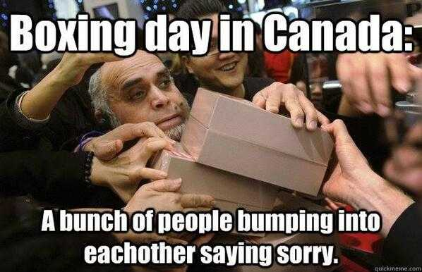 Boxing Day Memes - sorry
