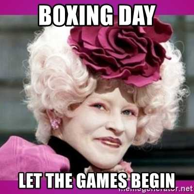 Boxing Day Memes - let it begin