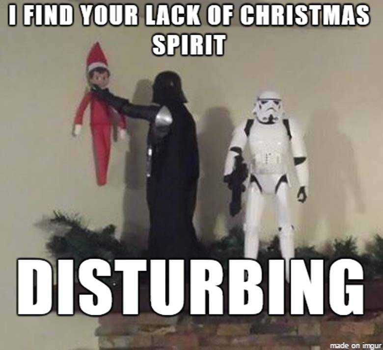 Funny Christmas Memes - lack of christmas spirit