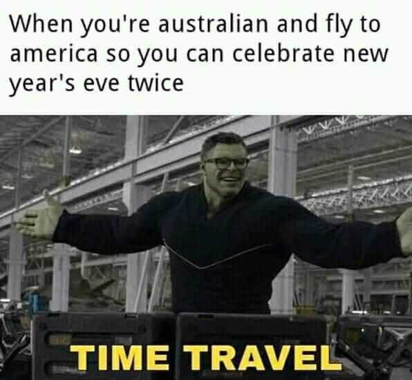 funny New Years memes - one time