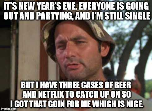 funny New Years memes - partying