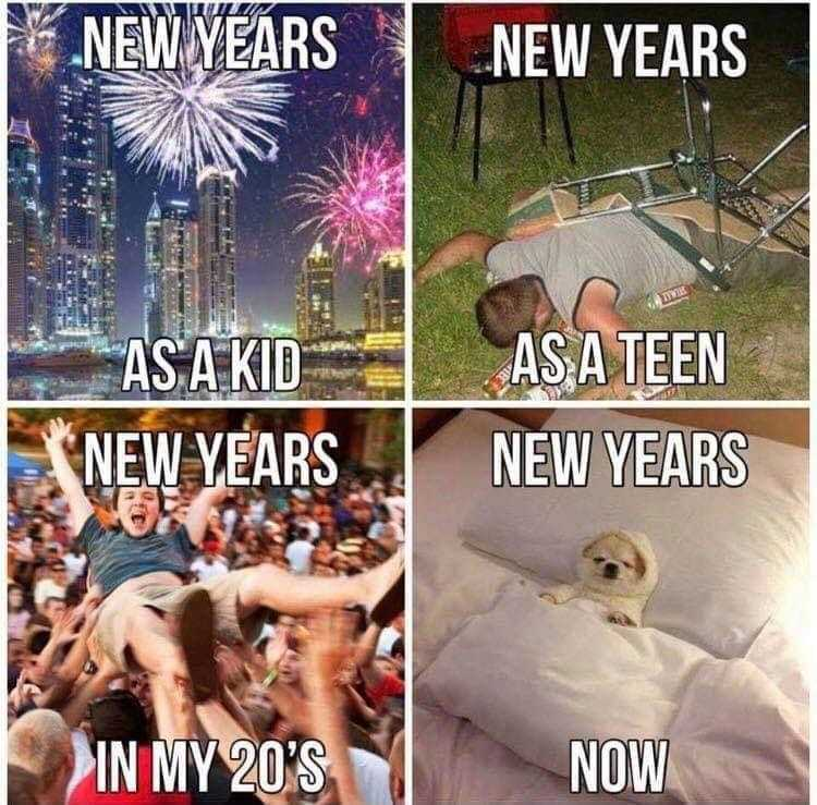 Funny New Years Memes - been there done it before