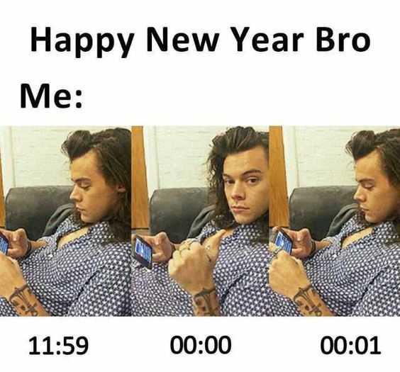 Funny New Years Memes - new year bro