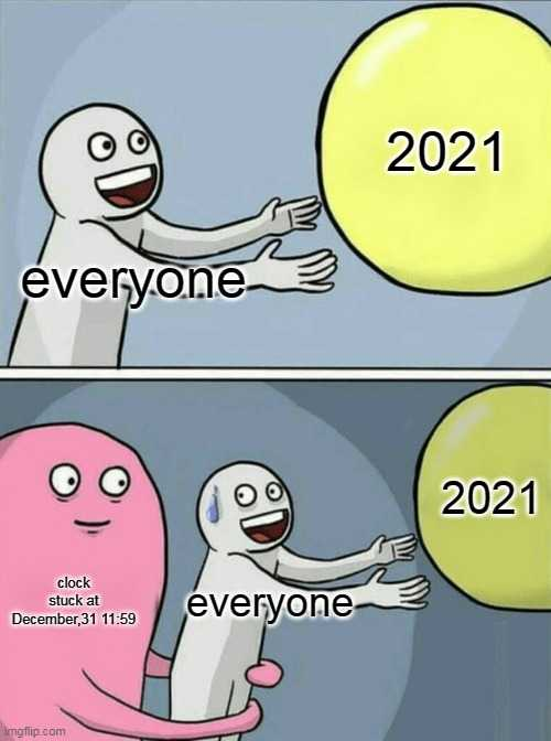 funny New Years memes - way to end 2020