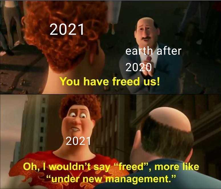 funny New Years memes - new management