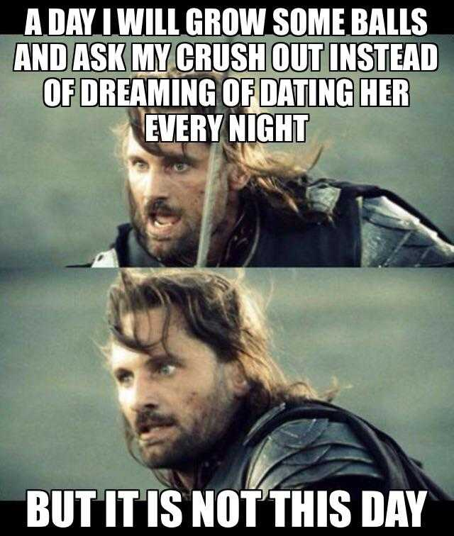 Funny New Years Resolution Memes - asking my crush out