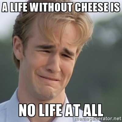 Funny Cheese Memes - Life Without Cheese