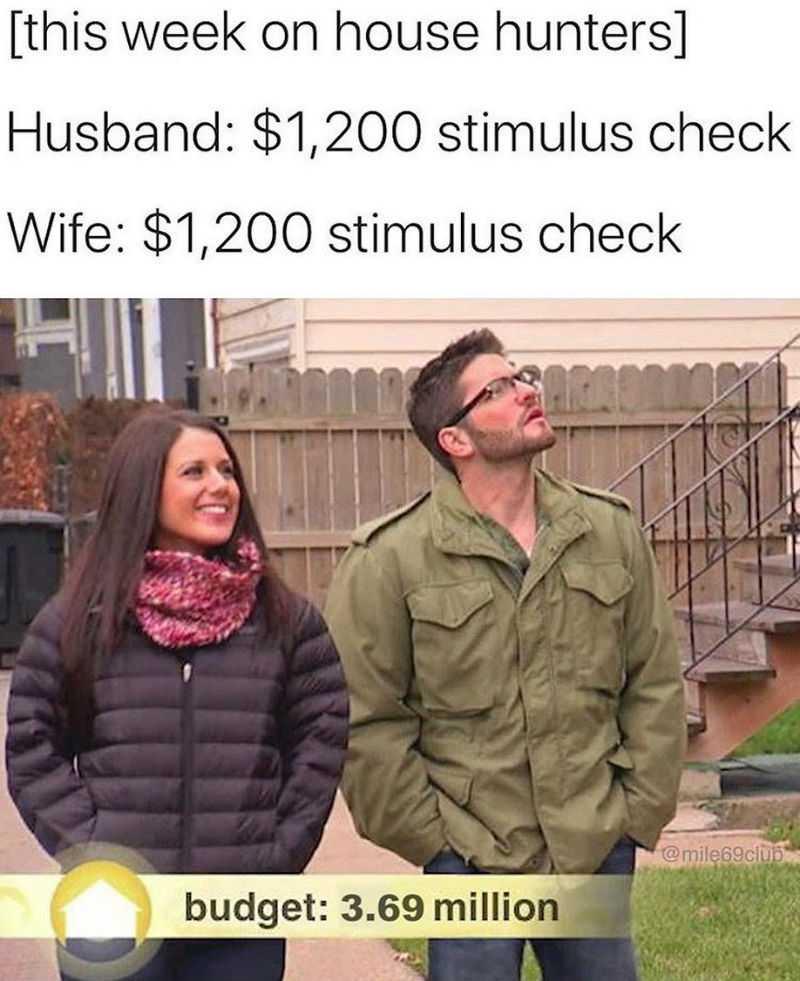 1200 Stimulus Memes - Budget