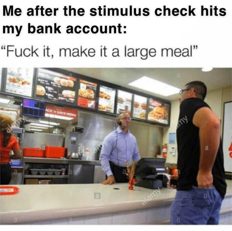 Stimulus Memes - Splurging