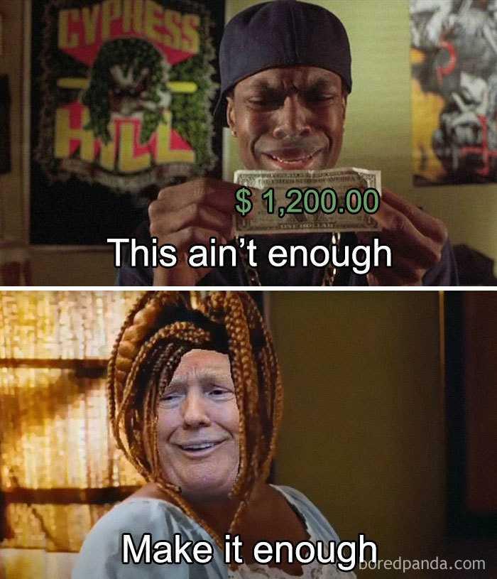 Stimulus Memes- Not Enough