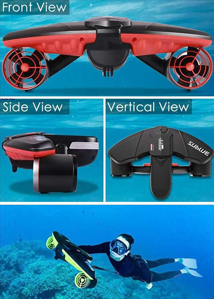 Best Cool Christmas Gifts - Underwater Jet