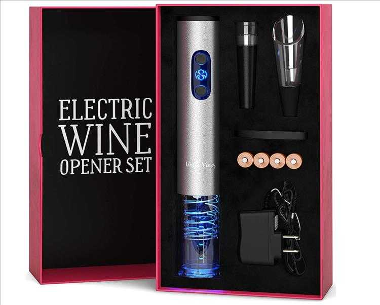9 Best Christmas Gift Ideas - Electric Wine Opener