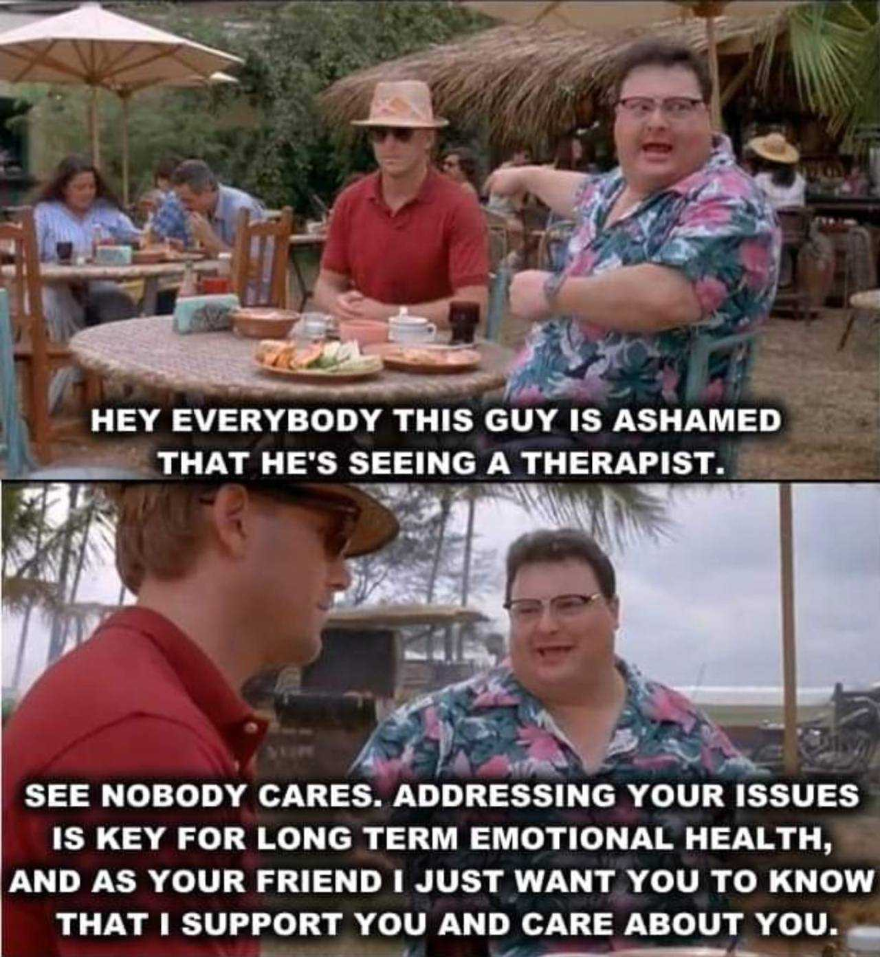wholesome memes - seeing therapist